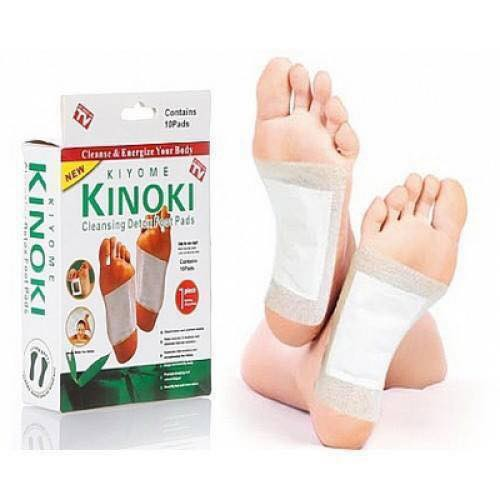 แผ่นแปะเท้าดูดสารพิษ Cleansing Detox Foot Pads Kinoki ช่วยขจัดสารพิษในร่างกายและคลายอาการเ