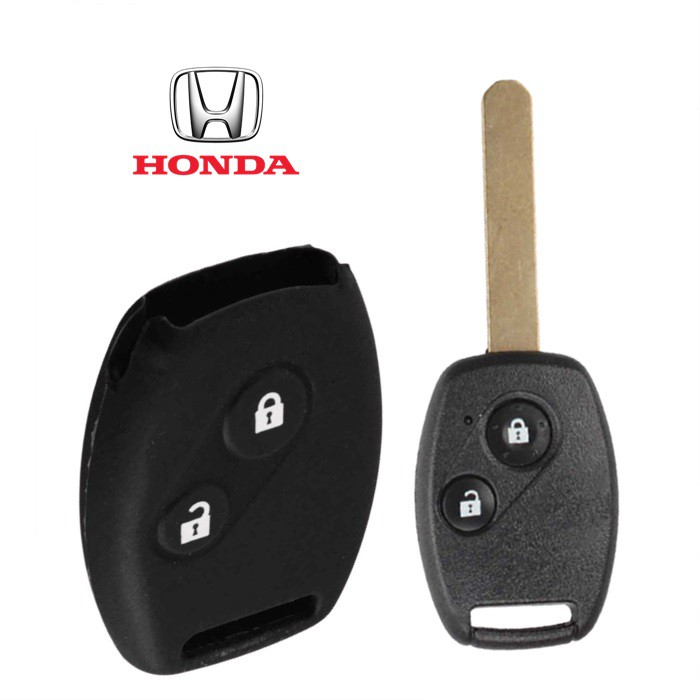 Honda City / Civic / Stream / Jazz / CRV Remote Car Key Silicone Cover (2 Buttons)