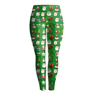 Christmas Running Leggings.Christmas Series High Waist Camouflage Pants Running Tights Gym Leggings