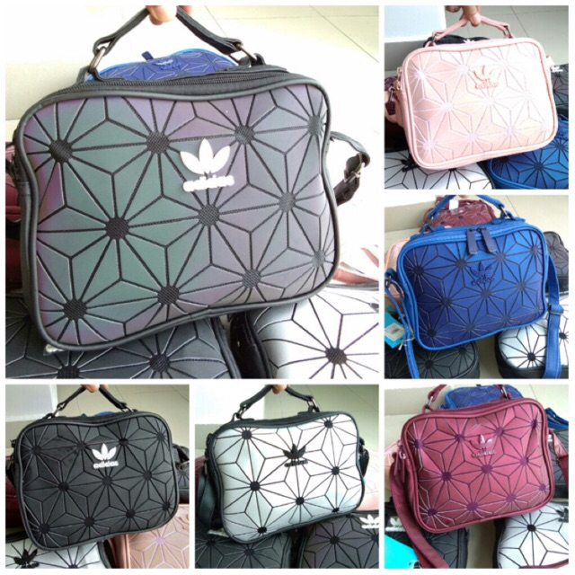 87f042fff85e Ready Stock  Adidas 3D x Issey Miyake Mini Airliner Sling Bag ...