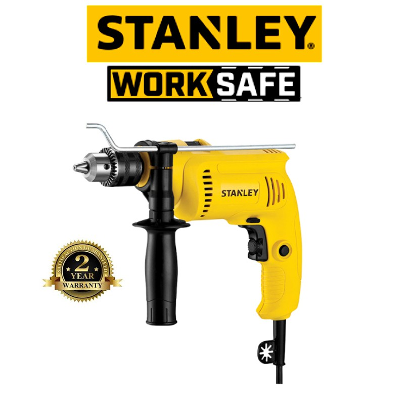 STANLEY SDH600KV 550W PERCUSSION DRILL VALUE PACK (KIT SET) (2 Year Warranty)
