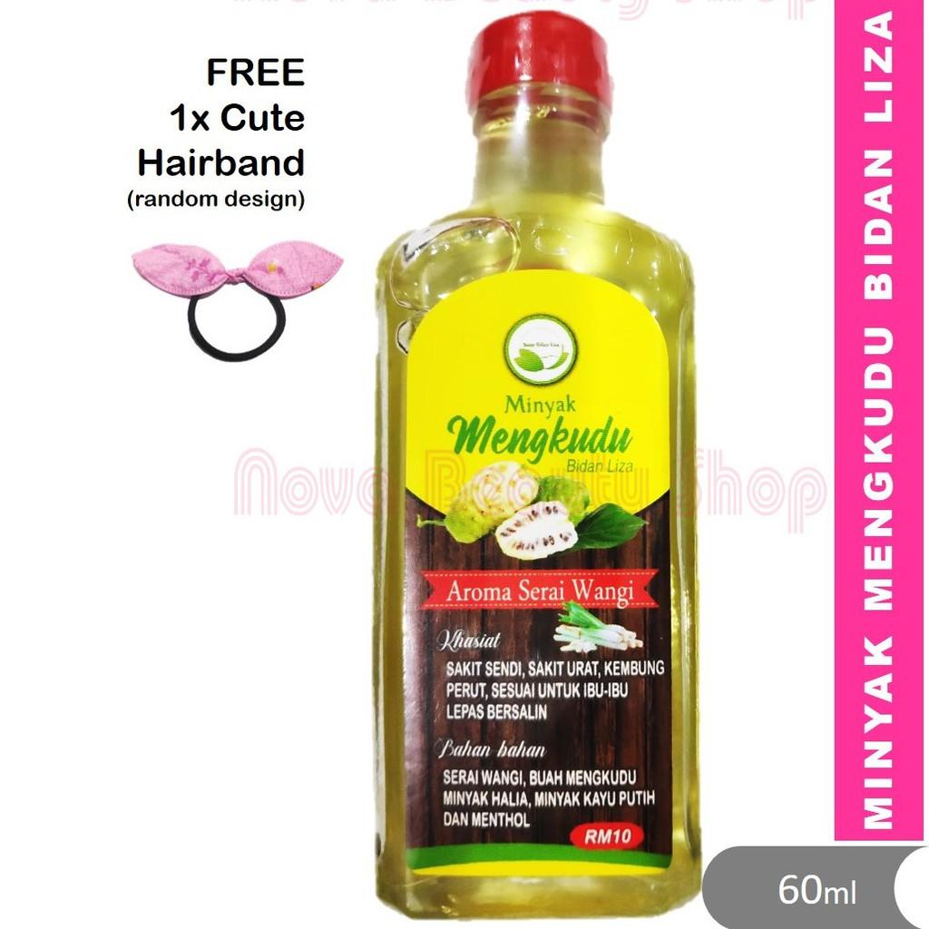 🥑 Minyak Mengkudu Bidan Liza 🥑 RM10 / 60ml untuk ibu dalam pantang, sakit sendi, sakit urat, kembung perut
