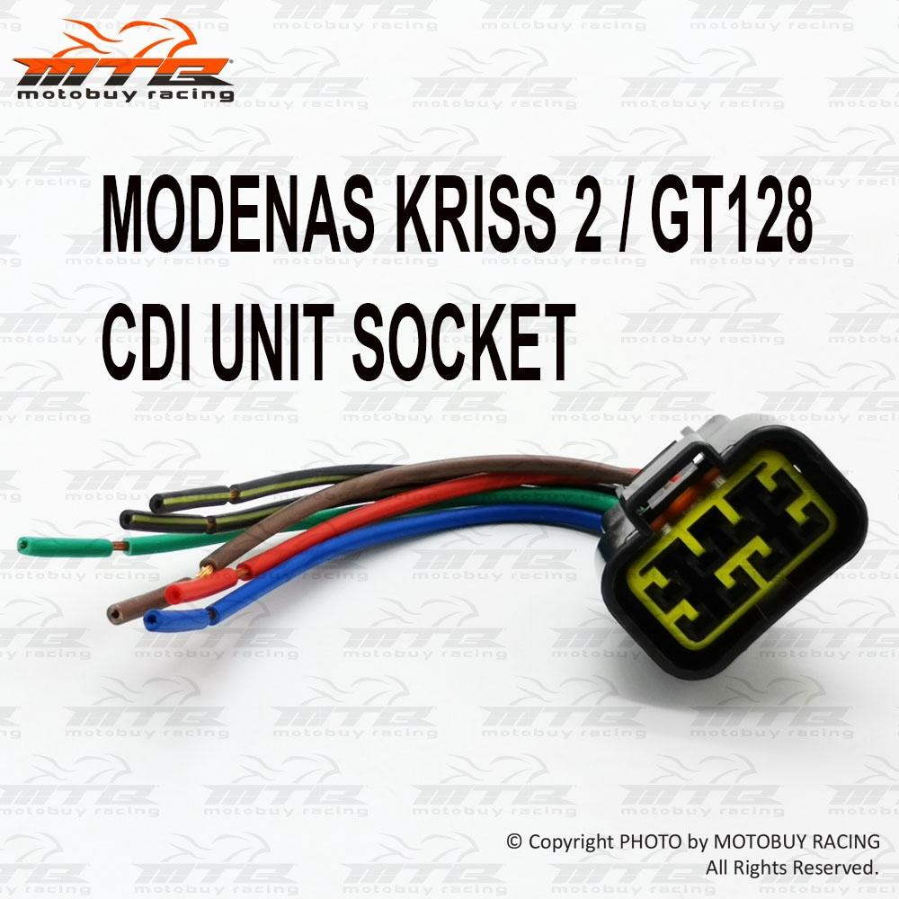 Modenas Kriss 2 Gt128 Cdi Unit Socket Shopee Malaysia