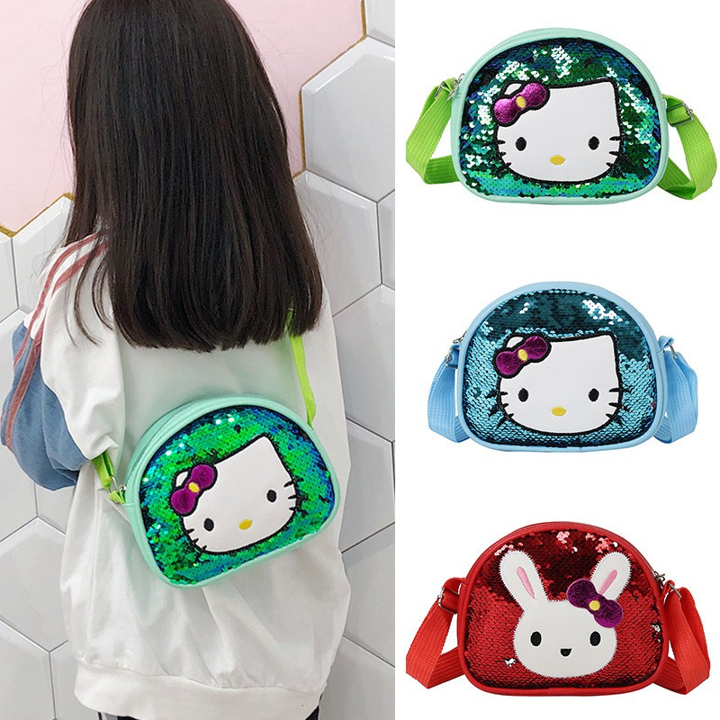 2019 New Hello Kitty Kids Bag Girls Cute Sling Bag