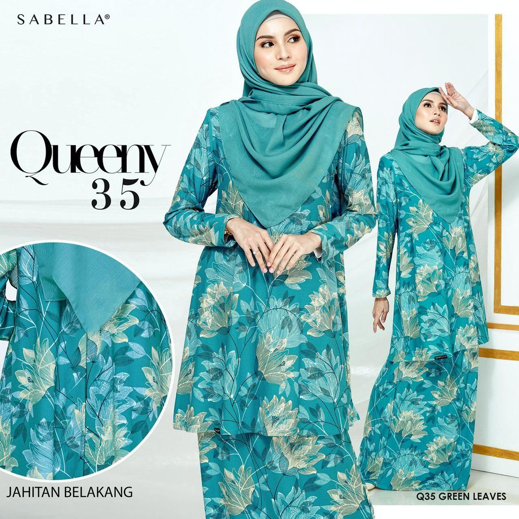READY STOCK Sabella Queeny Unlimited 3.0 (QU3) Green Leaves (M)