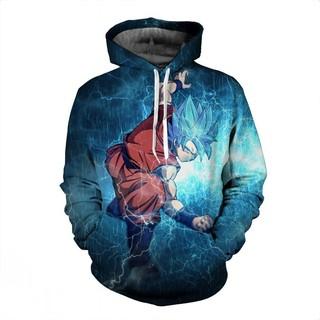 e09848aa1548 3D Dragon Ball printing Sweater Anime Monkey King Saiyan