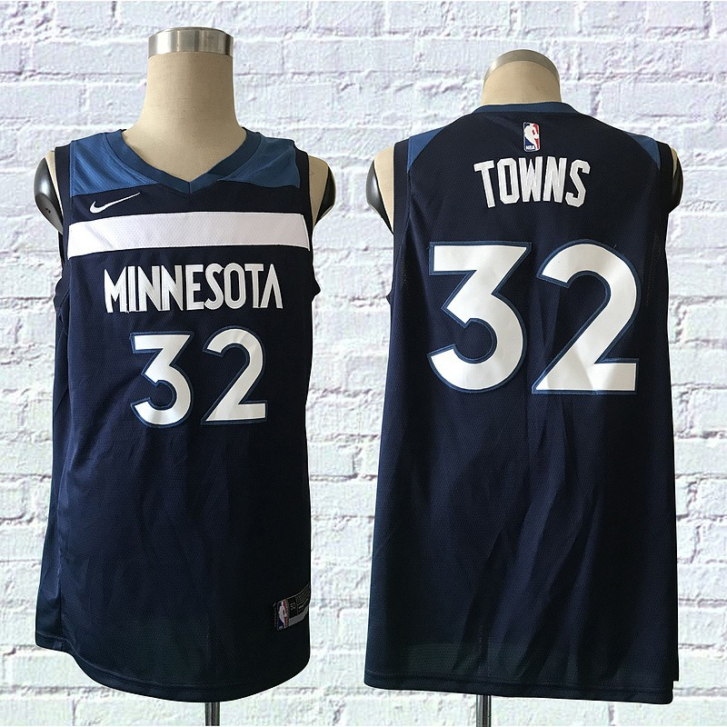 Ready Stock Original Nike Nba Minnesota Timberwolves Towns 32