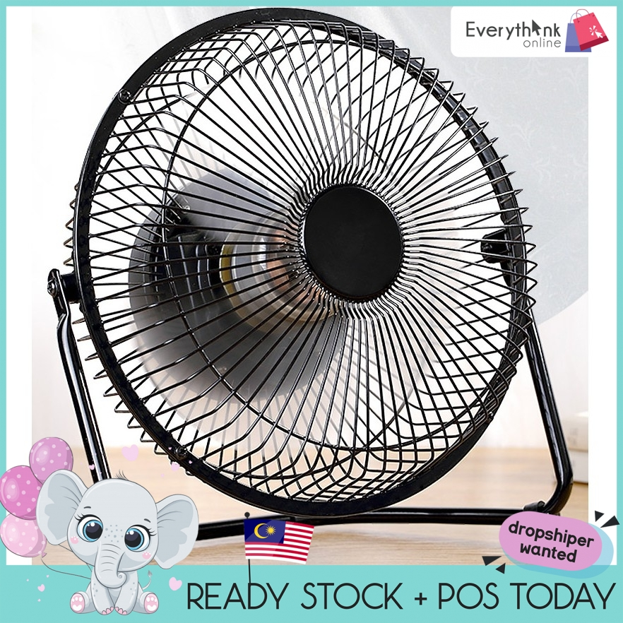"GENUINE EVON PREMIUM QUALITY 8"" USB FAN WITH ON/OFF BUTTON 8 INCH FAN POWER BY USB 18.5cm*11cm*19cm STRONG WIND"