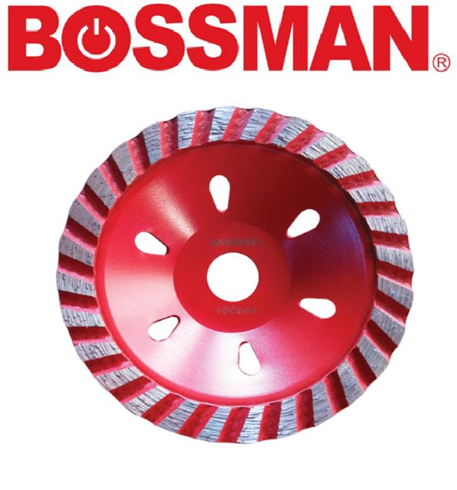 BOSSMAN B6054 CUP GRINGING WHEEL CUTTING GOOD QUALITY