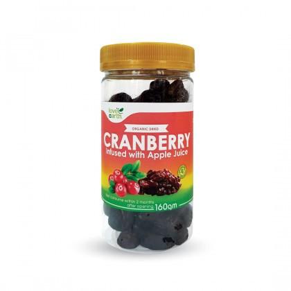 Love Earth Dried Cranberry 天然蔓越莓干 160g