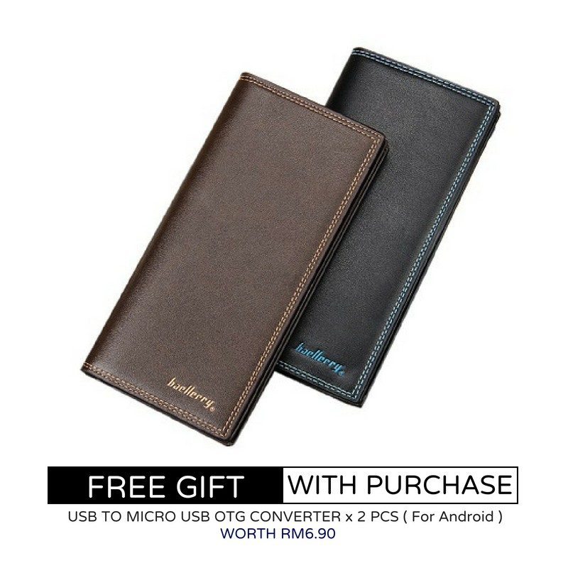 Baellerry ZX-CK20 New Design Men Long Money Wallet  0a7483d0a6