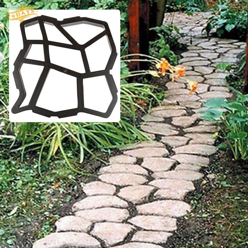 Furniture Efficient Diy Garden Concrete Paving Mold For Pavement Walkways For Garden Path Paving Mold Pathmate Shovel De