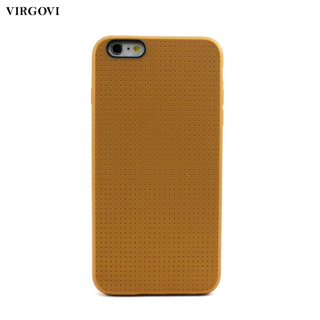 b9a89c8f26 ProductImage. ProductImage. Back Pinholes Soft Silicone Cover Case Skin For iPhone  6 6S Plus Awesome