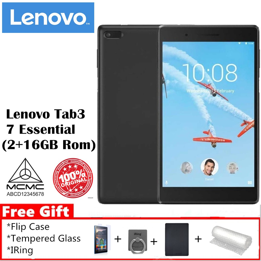Lenovo Tab 3 7 Essential 2+16GB Rom (Lenovo Official 1 Years Warranty)