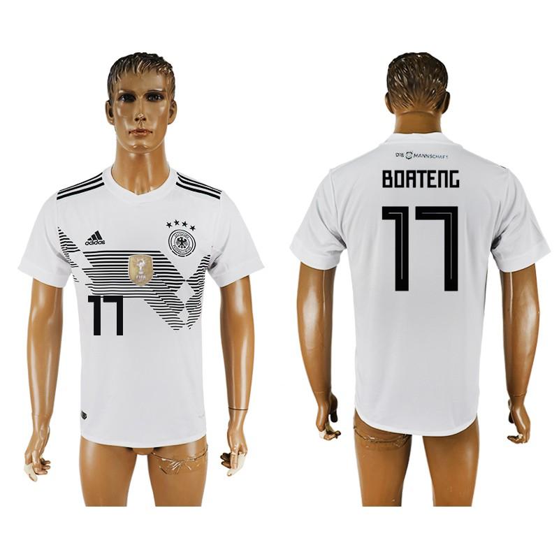86d4cb25b4c Adidas 2018 FIFA World Cup Germany Boateng  17 Men s Football Home Jersey