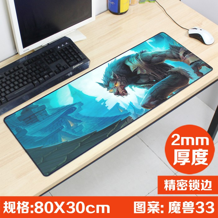 New World of Warcraft WOW Game Mouse Pad Mat Laptop Gaming Mousepad 70*30cm