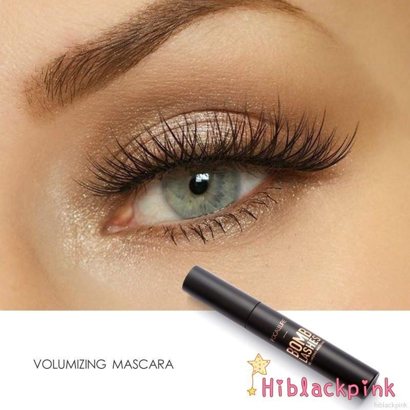 23abac06177 FOCALLURE 3D Black Volume Curling Makeup Waterproof Thick Lengthening  Mascara | Shopee Malaysia