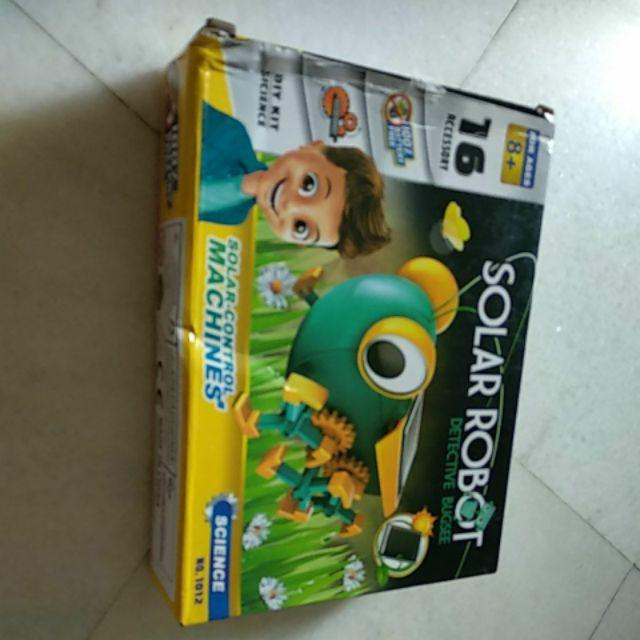 Realeos Diy Solar Bug Grasshopper Robot Educational Science Kids Toy
