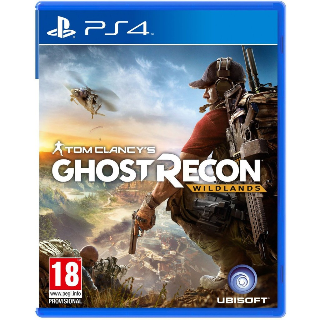 PS4 Tom Clancy's Ghost Recon: Wildlands Deluxe (English/Chinese) * 火線獵殺: 野境  *