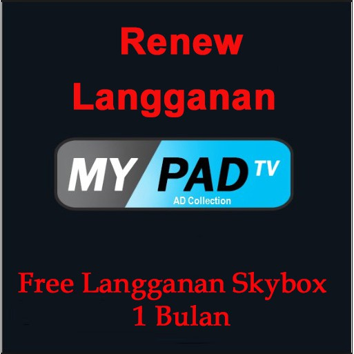 MYPADTV Subscription