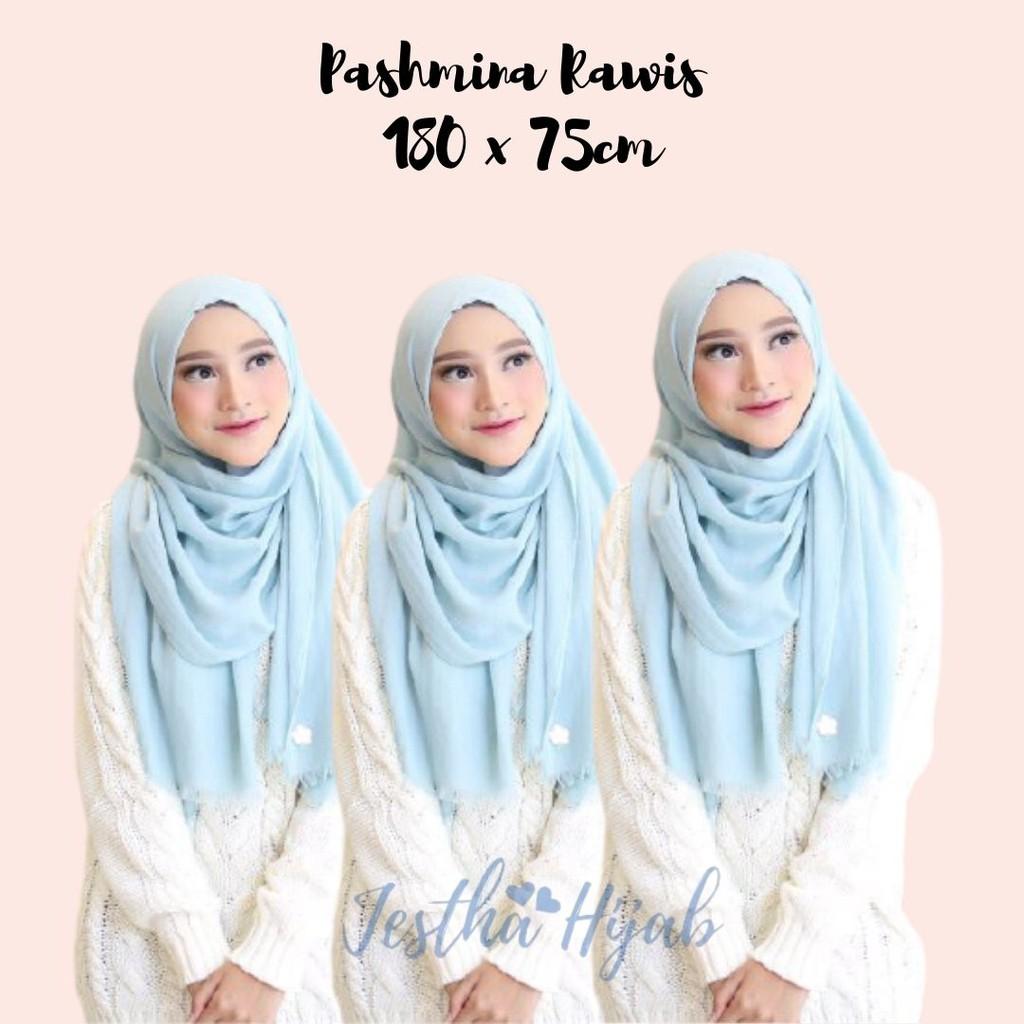 Pashmina Rawis Hijab Pashmina Nazwa Hanna Rawis Veil Shopee Malaysia