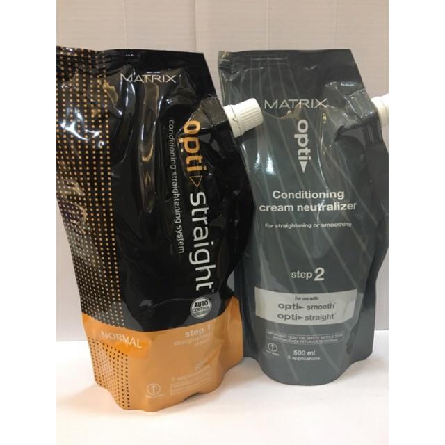 Matrix Rebonding Cream (Normal 500ml + Neutralizer 500ml) | Shopee Malaysia