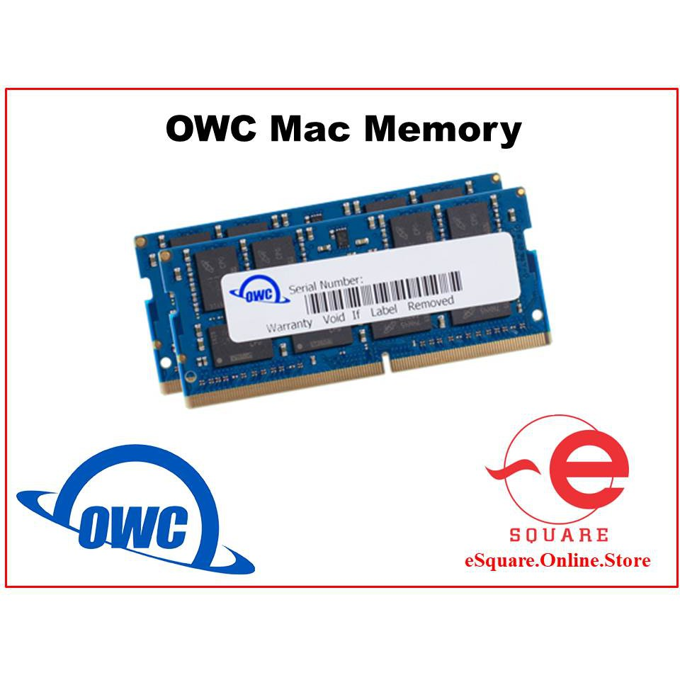 OWC DDR4 2666MHz SODIMM 32GB (16GBx2) / 16GB (8GBx2) for Mac