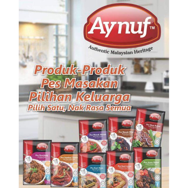 Hot item 8 jenis Pes Masakan Aynuf / Pes Ikan Bakar dan Pes Ayam Bakar | Shopee Malaysia