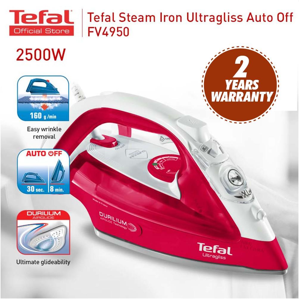 Tefal Steam Iron Ultragliss (2500W) FV4950
