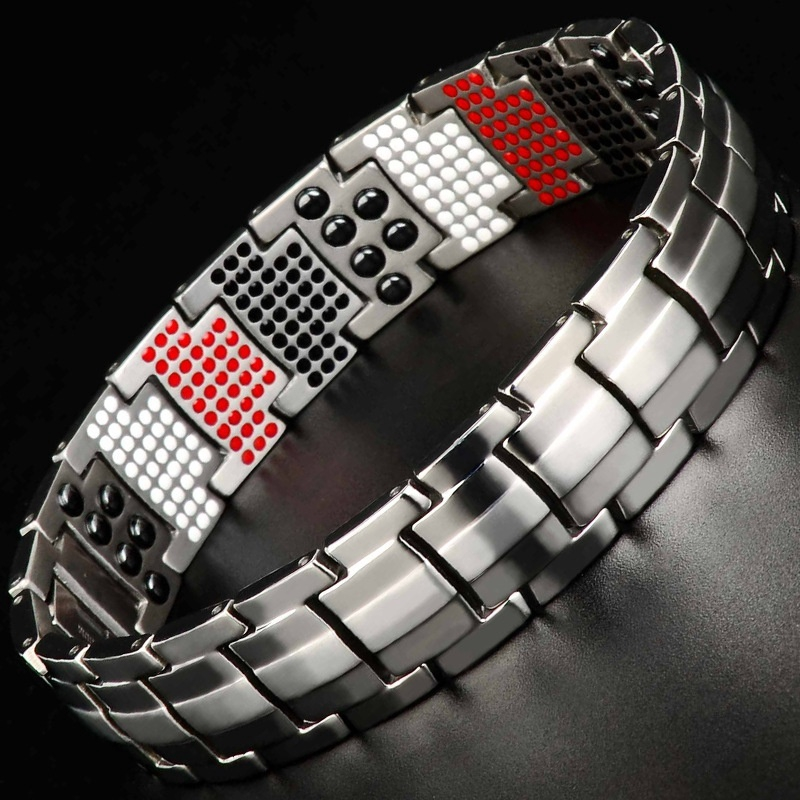 Pure Anium Magnetic Bracelet Men