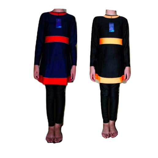 Muslim Children Girl Swimming Suit (M064)