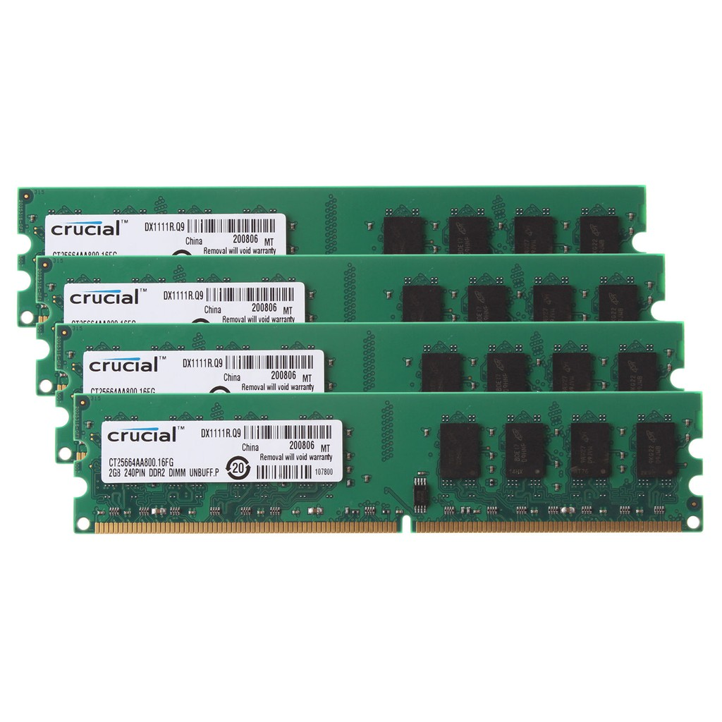 Kingston 2gb Ddr2 800mhz Computer Ram Pc2 6400 Dimm Desktop Memori Pc Shopee Malaysia