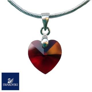 9c8f1d51db95f SWAROVSKI Crystal Heart Pendant 10mm (925 silver) | Shopee Malaysia