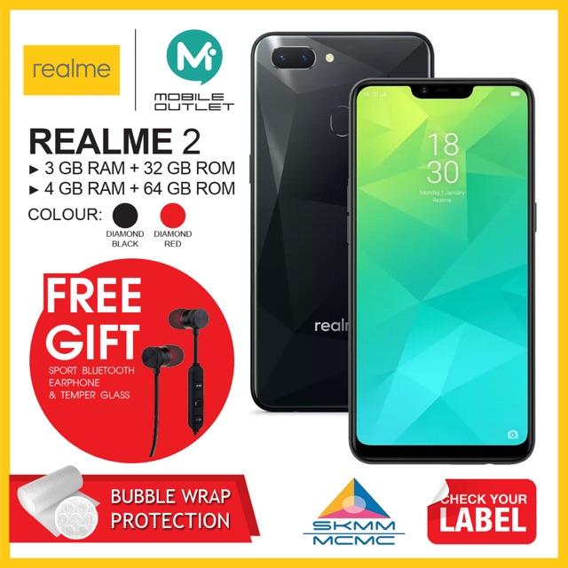 Realme 2 Price in Malaysia & Specs | TechNave