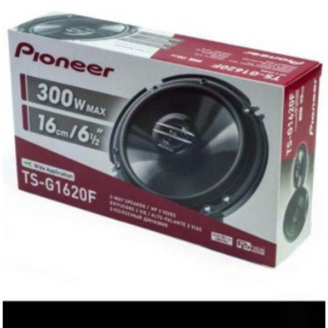 "PAIR Pioneer TS-G1620F TS-G1645R 2-Way 6.5/"" Car Speaker 300W 6 1//2 inch"