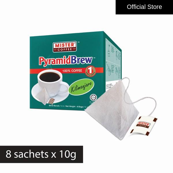 [Mister Coffee] PyramidBrew™ Kilimanjaro (8 sachets)