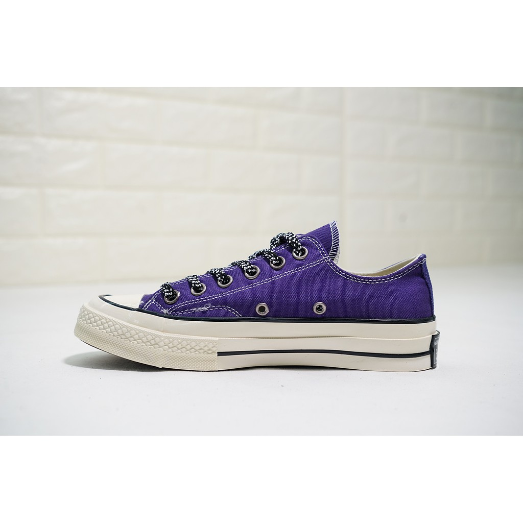 d1a178c0a5 Original Converse Chuck Taylor ALL STAR 1970s Low/High Top Purple Canvas  Shoes