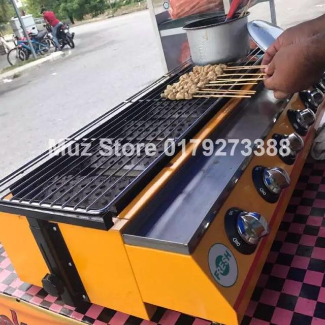 Sun Infrared Gas Range Smokeless Pembakar Satay Dll Sho Malaysia