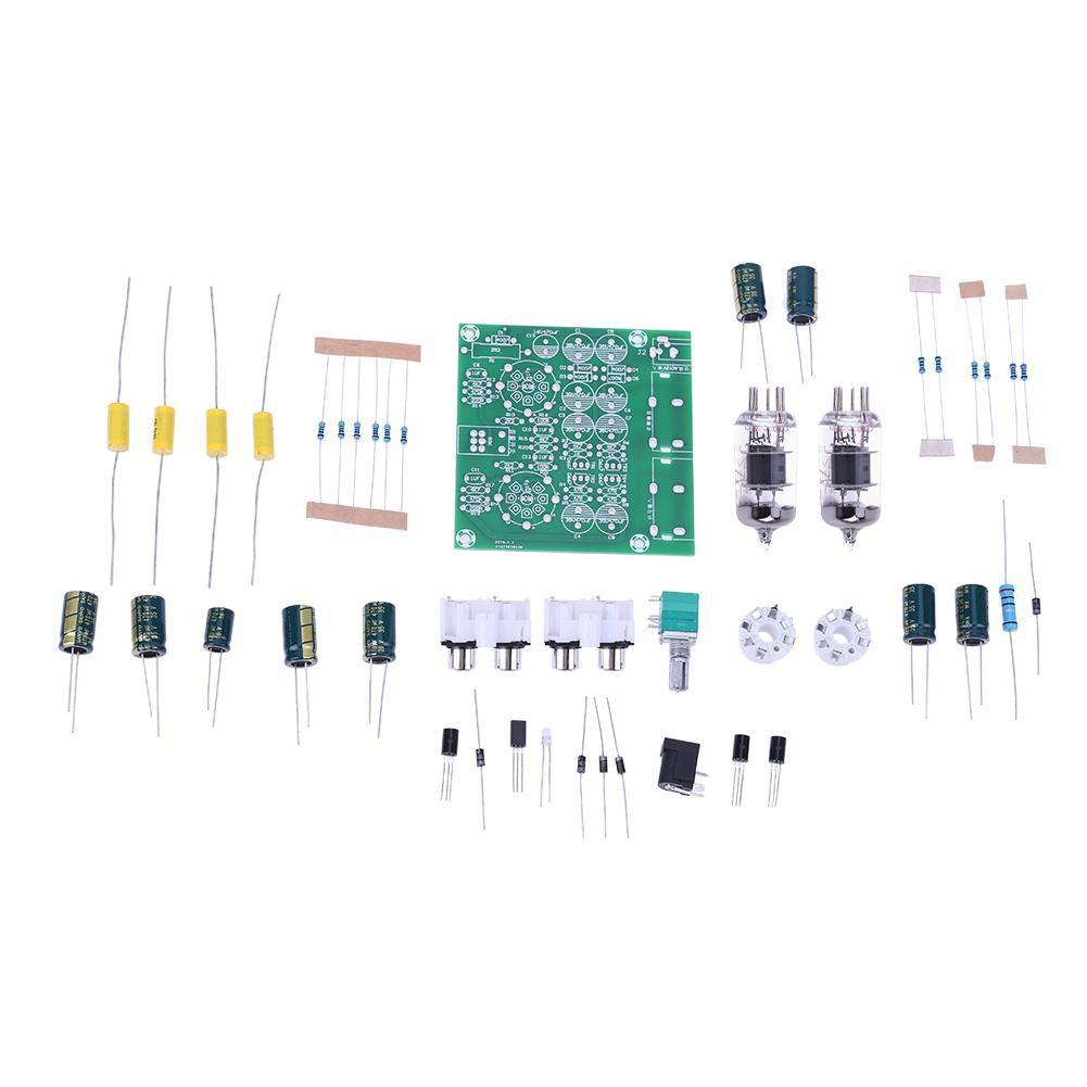 AC 12V 6J1 Valve Pre-amp Tube Pre-Amplifier Board Headphone Buffer DIY Kit