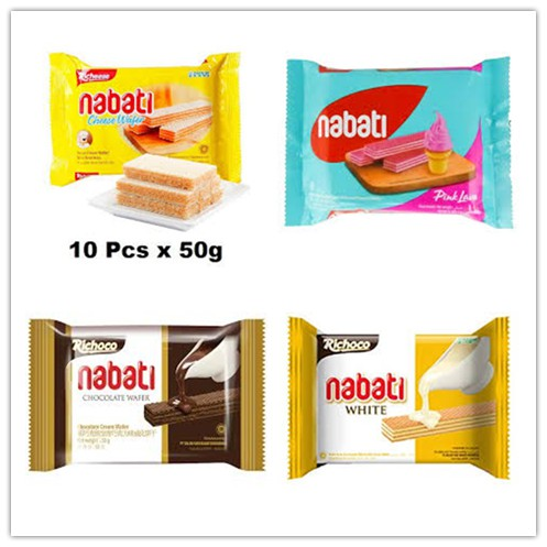 Nabati Wafer Assorted 10pcs x 50g