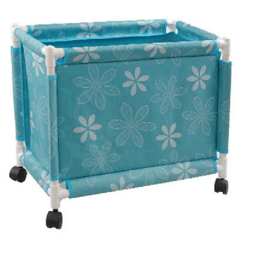 Multi Purpose Storage Basket with Wheels and Lid