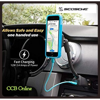 SCOSCHE MAG12V MagicMount Magnetic Phone/GPS Power Outlet Mount for the Car