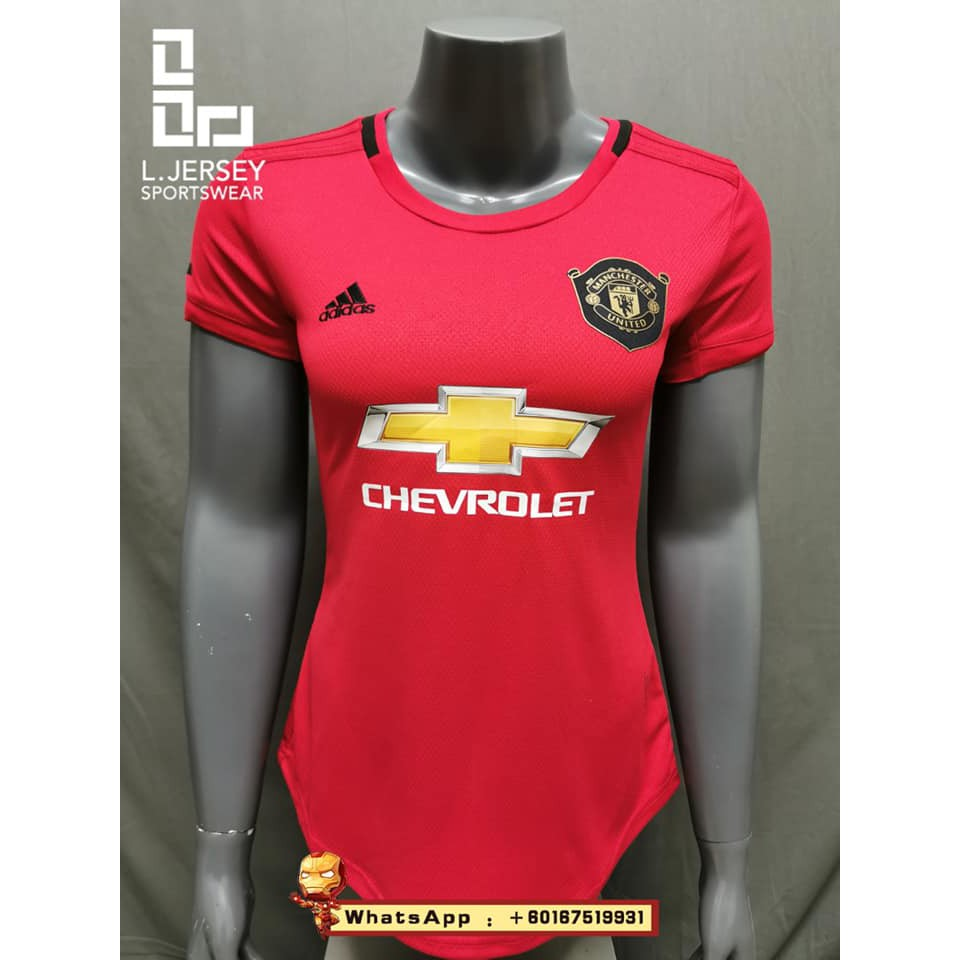 Manchester United Women Home Season 19/20 CLIMALITE Fans Jersey