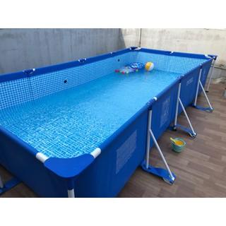 INTEX Kolam Ikan / Renang Akuarium Swimming Pool Bingkai Keluli
