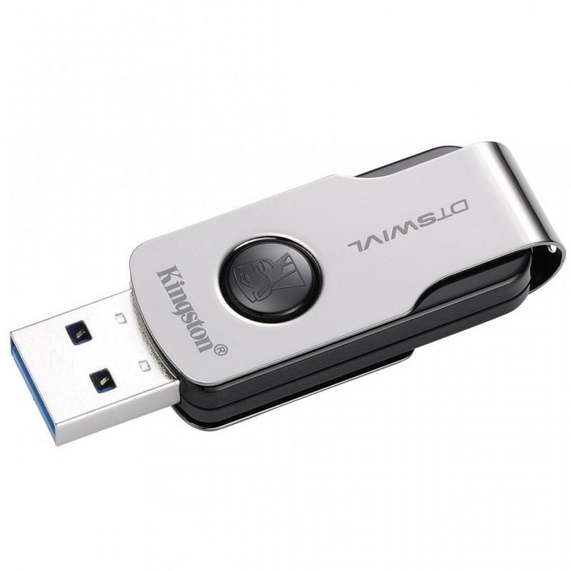 Kingston DataTraveler Swivl (DTSWIVL) USB 3.0 Flash Drive / Thumb Drive /  Pendrive (32GB)   Shopee Malaysia