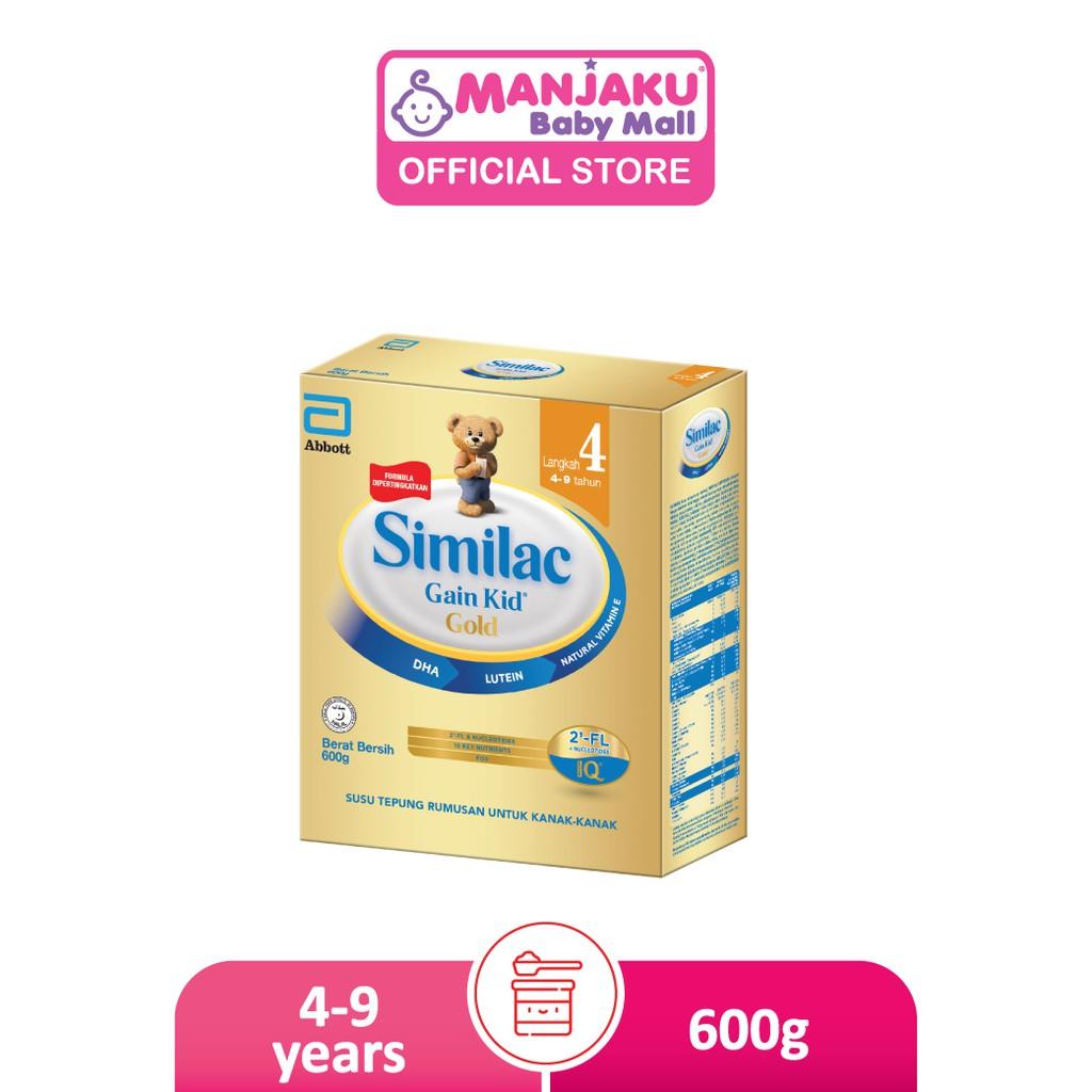 Similac Gain Kid Gold Step 4 Growing Up Milk Formula (600g)