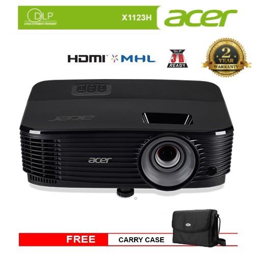 ACER X1123H Home & Presentation DLP Projector - 3600 Lumens