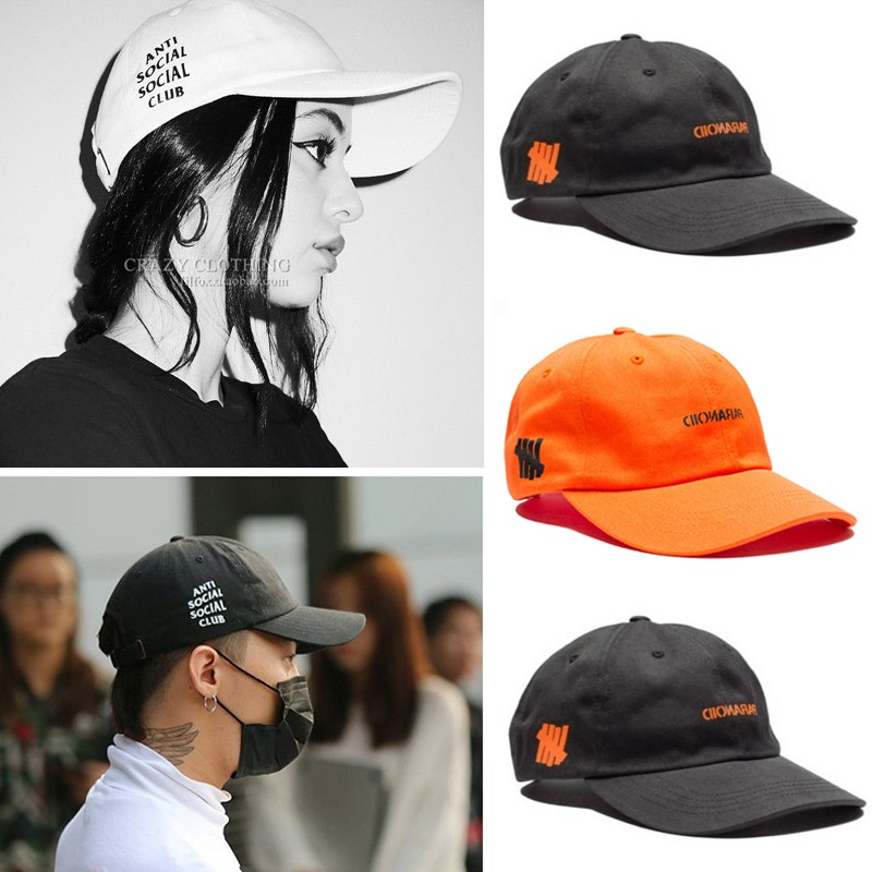 a1773730819b ⭐Ready Stock⭐Assc Anti Social Club X Undefeated Cap GD Outdoor Cap Baseball  Cap