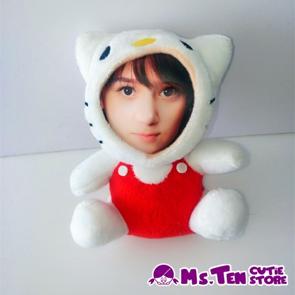 Creative Special Gifts Customized DIY 3D Face Toys Hello Kitty