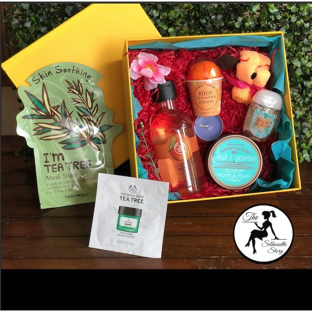 Orange Mango Tea Tree Large Gift Box Set